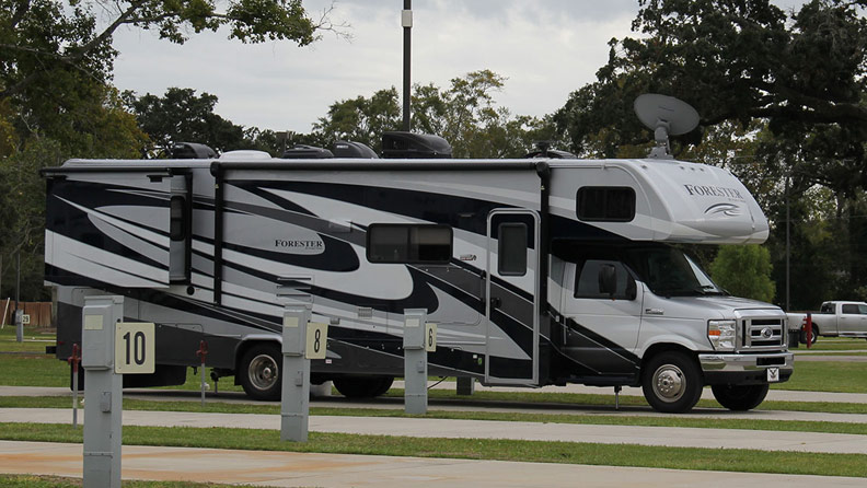 Rv Park 24 Hour Security Full Hookups Wifi Boomtown Casino Biloxi