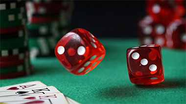 Red Dice Rolling