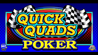 Quick Quads Video Poker