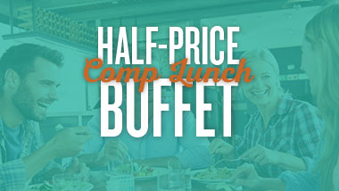 Half Price Comp Lunch