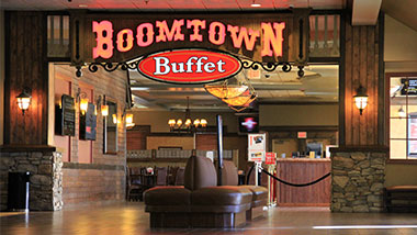 Boomtown Buffet Entrance