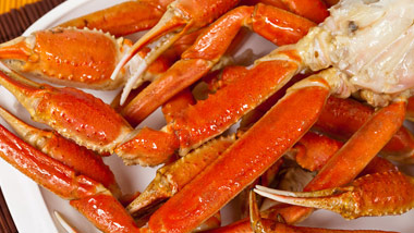 All you can eat crab legs buffet at Boomtown Casino Buffet